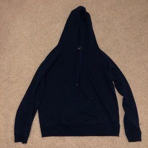 Dark navy blue hoodie